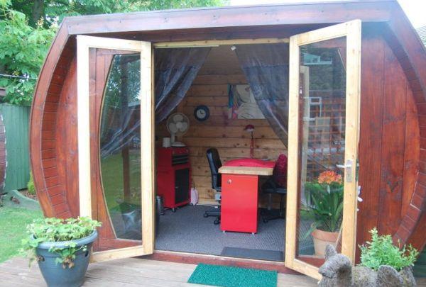 Eco shed turned nail salon 2
