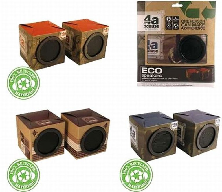 Eco-speakers