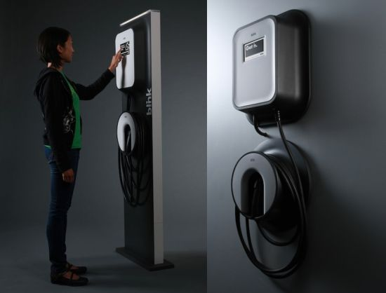 ecotality blink charging station 2