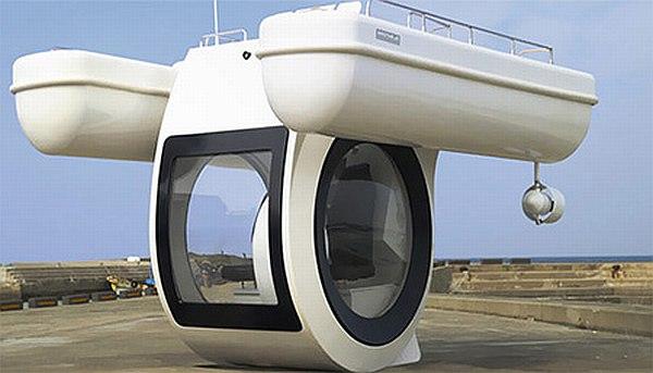 EGO: Electric-Powered Submarine