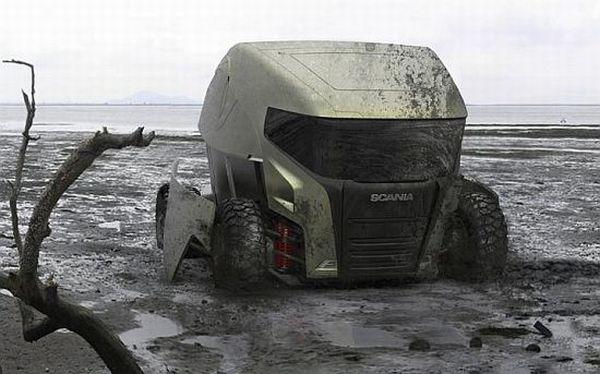 Electric powered ATV Concept