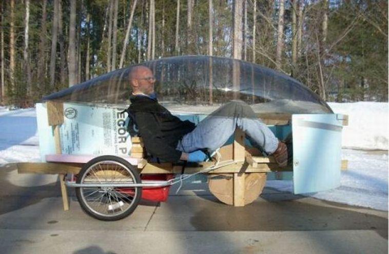 Electric sail car