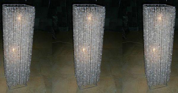 Environment friendly crystal lamp