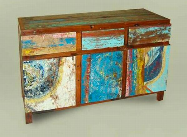 Exotic reclaimed boats furniture