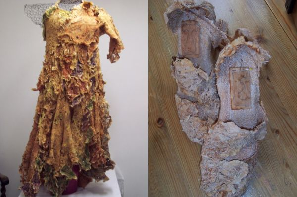 4. Fashion Items made from used tea bags
