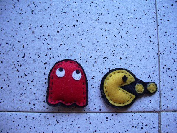 Felt Pac Man