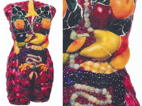 female torsos recycled material 6