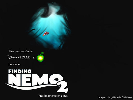 finding nemo 2 bp disaster parody posters 2