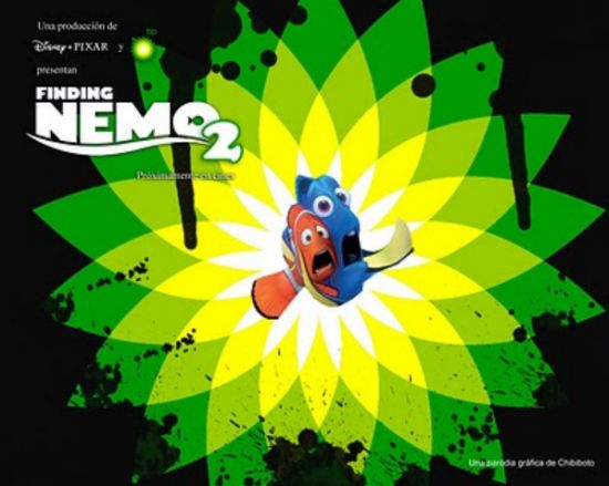 finding nemo 2 bp disaster parody posters 5