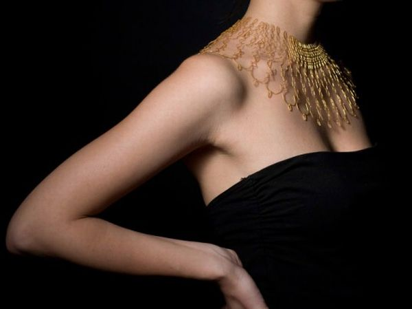 Florie Salnot Plastic Gold Jewelry