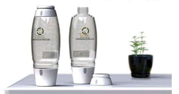 Garden water bottle