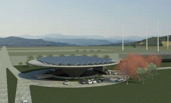 Geotectura's Green Gasoline Station