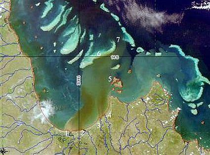 great barrier reef 1822