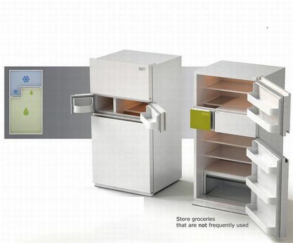 Green refrigerator