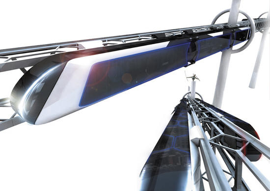 high tech train system 1