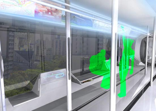 high tech train system 4