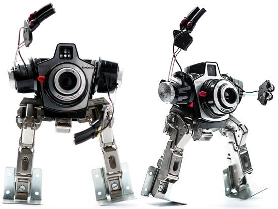 himatic recycled robotic sculpture 4