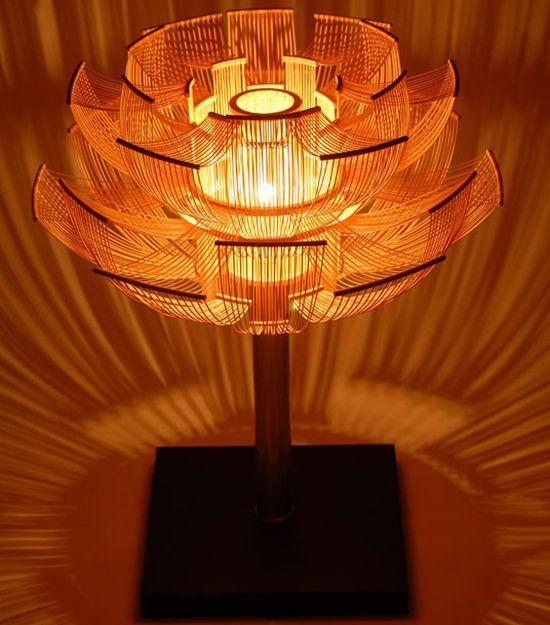 hokore bamboo floor lamp 2