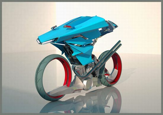 hydrogen fueled buell h2 motorcycle concept flaunt