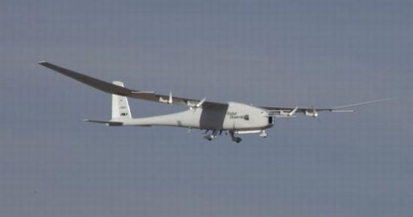 hydrogen-fueled Global Observer UAV