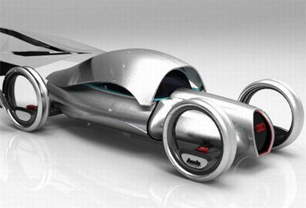 hydrogen powered Audi concept car