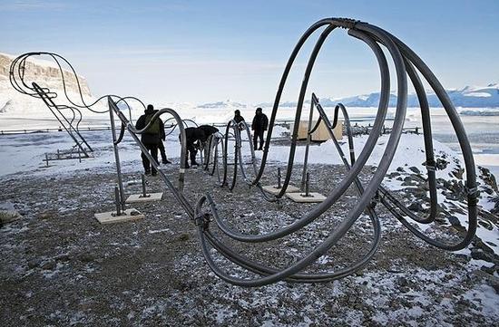 ice sculpture greenland 2