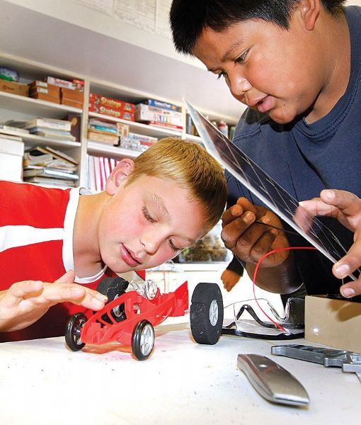 ignacio kids create solar car 3