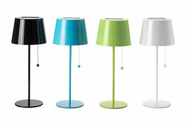 IKEA's Colorful Solar Power Lamps