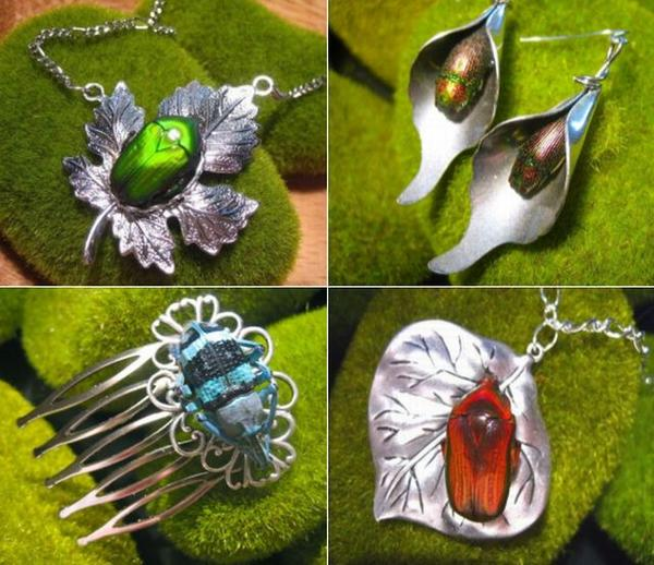 insect jewelry