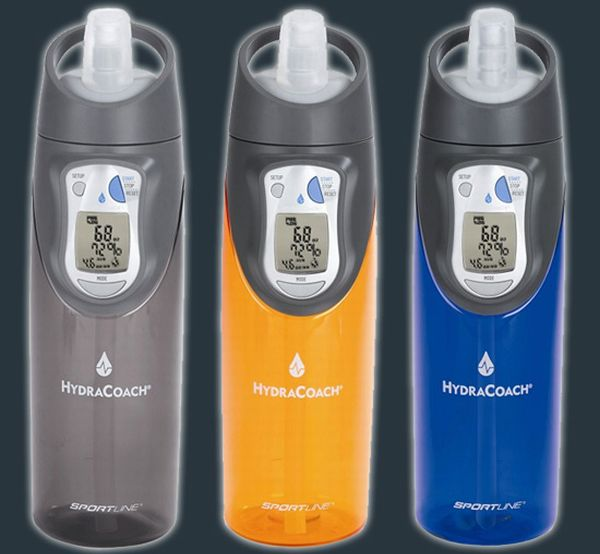 Intelligent water bottle
