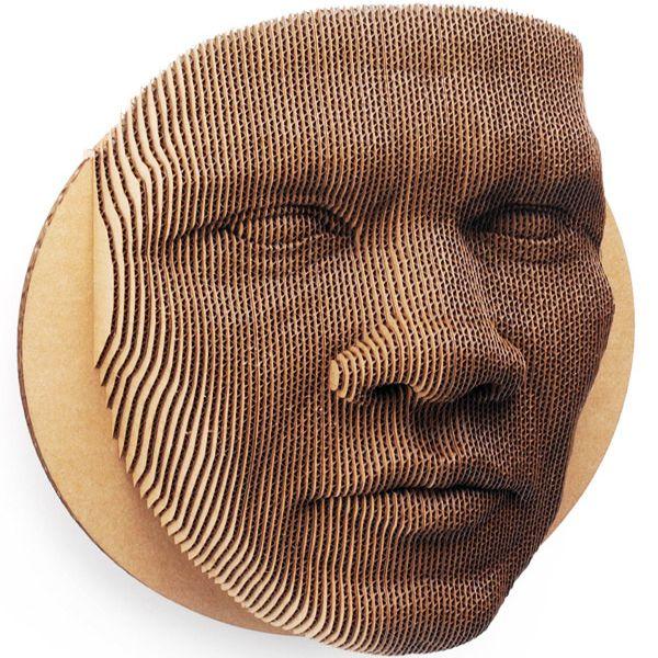 jack cardboard wall mask