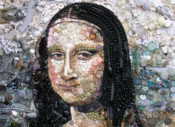 Jane Perkins recycled art