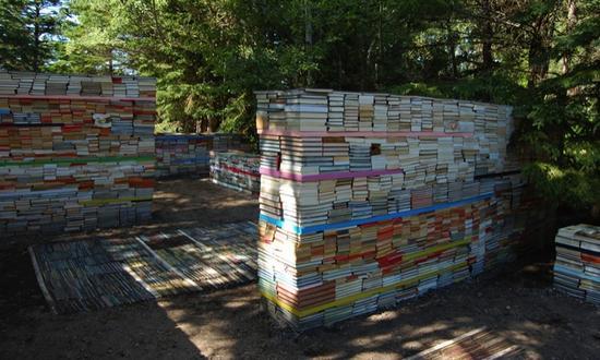 jardin de la connaissance book installation 9