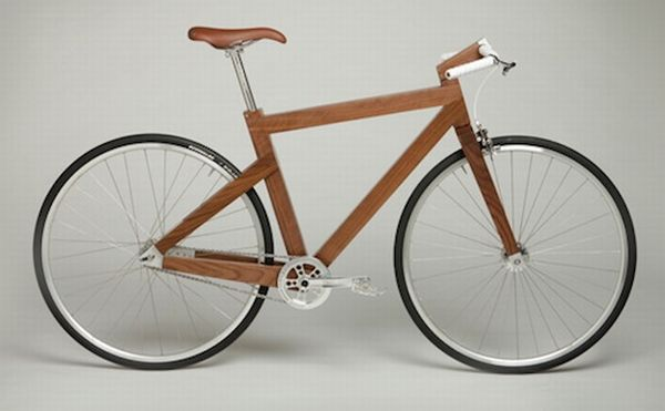 Lagomorph Design's Black Walnut bike 1