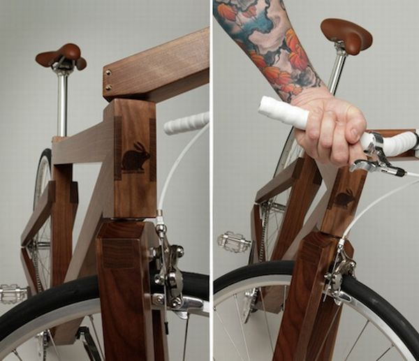 Lagomorph Design's Black Walnut bike 2