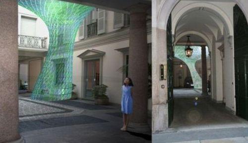 LED Chandelier by Christoph Klemmt