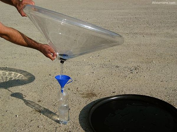 Low-tech water purifier