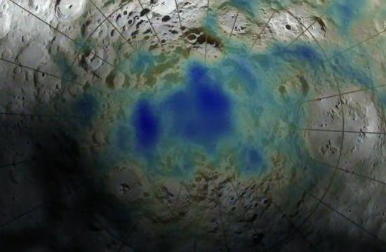 lunar polar crater
