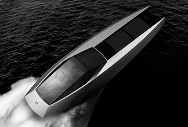 Luxury Hybrid Yacht