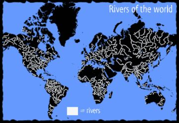 major world rivers