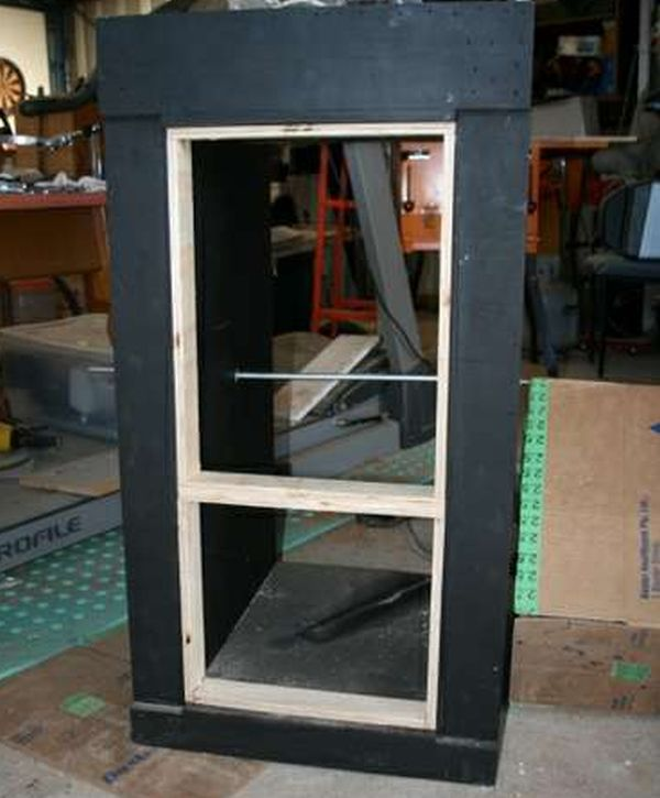 Making and fitting the rear doors