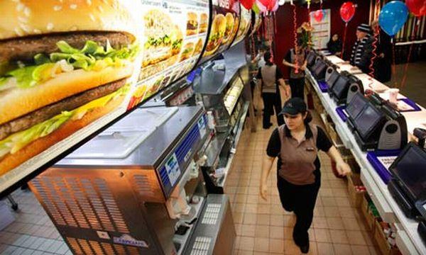 McDonald's 100% recycled uniform