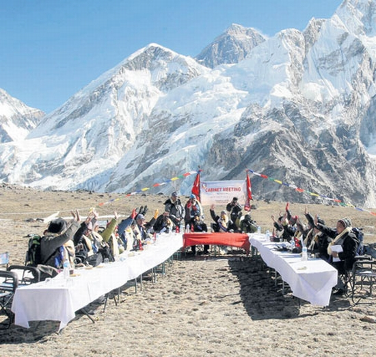 meeting at mount everest