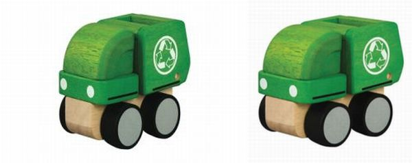 Mini garbage truck