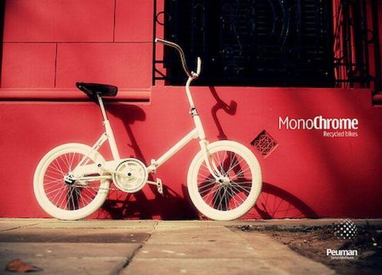 monochrome recycled bikes 1
