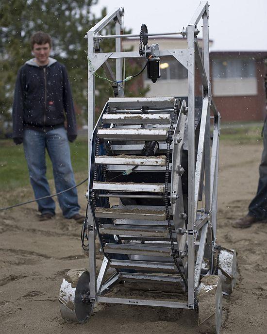 montana mule robot
