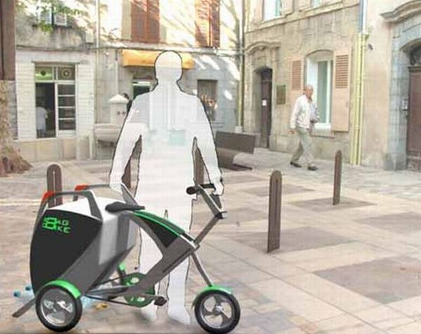 Multifunctional electric bike