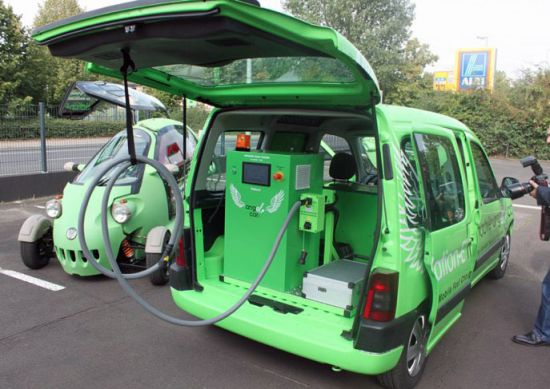 nation es angel car mobile service unit