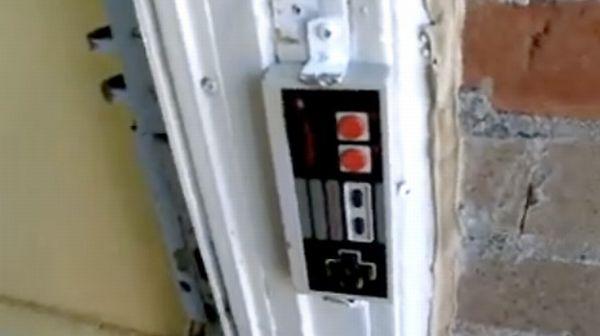NES controller doorbell