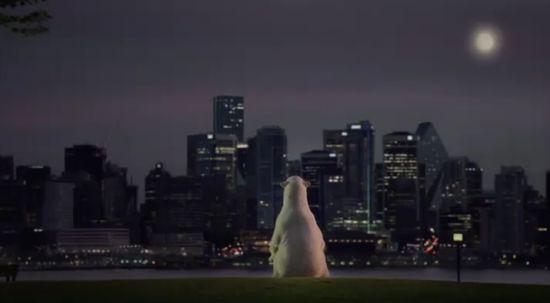 nissan polar bear ad 2